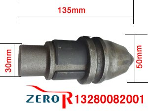 3050-A22/10合金条旋挖截齿尺寸图