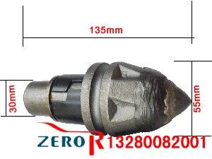 3055-22-6L防偏磨旋挖截齿尺寸图